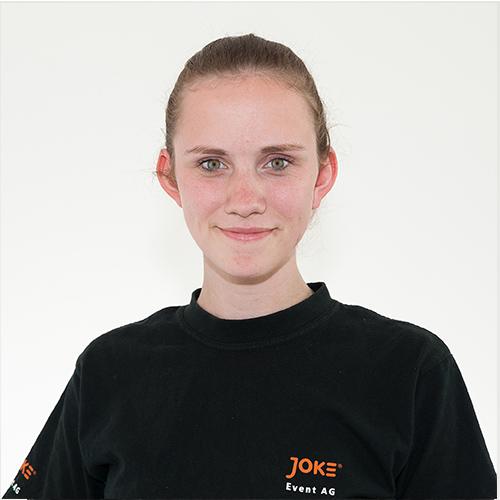 Janine Zottmann - Auszubildende Veranstaltungstechnik